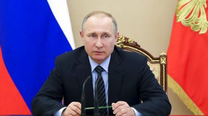 Russian President Vladimir Putin. (Photo: AP)