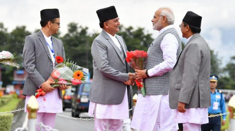 India is already a major trading partner of Nepal with free movement of goods, services and labour. (File Photo)