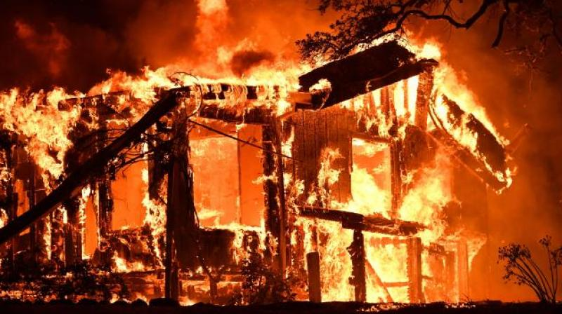 273400-acre Thomas Fire now the largest wildfire in California history