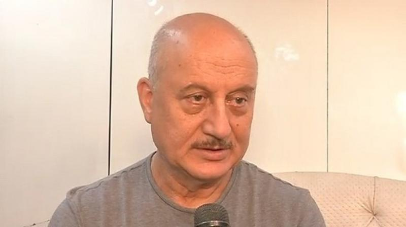 Anupam Kher also said, 'The whole country is in favor of the Modi government. It is not a small majority, it is a huge mandate. The opposition should now quietly let this government work.' (Photo: ANI)