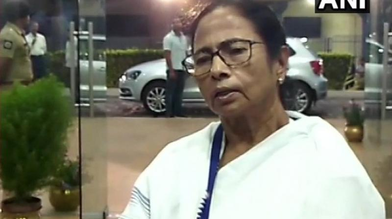'I have spoken to other Chief Ministers also. Since it is a ceremonial program, we thought of attending it,' West Bengal CM Mamata Banerjee said. (Photo: ANI)