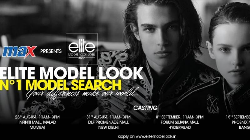 Poster - Max presents Elite Model Look India 2018