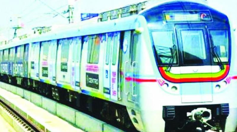 The stations where the paintings will go up are located on the eight-kilometre 'Science Corridor' between  Secunderabad East and Nagole Metro Rail stations.