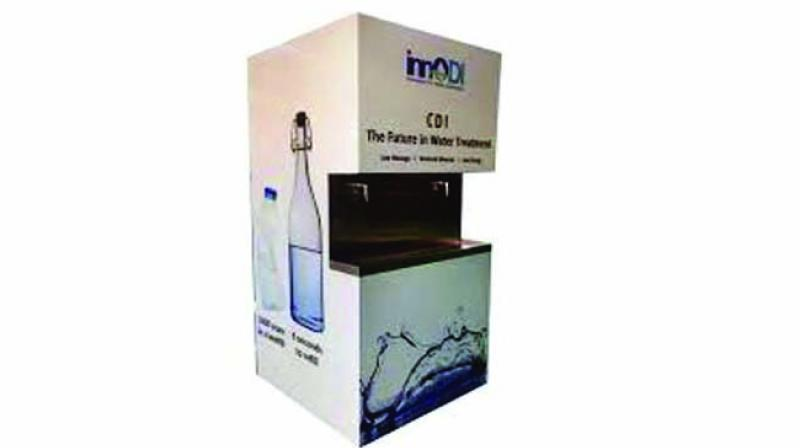 It is said that in current water purification technology methods nearly 60 percent of the raw water is wasted as a reject during purification and the rejected water goes down the drain.