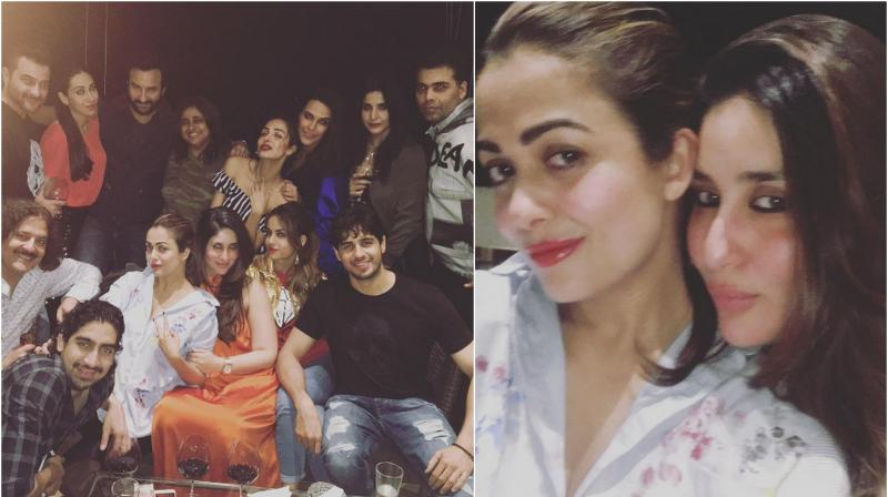 Amrita shared the pictures on her Instagram account.