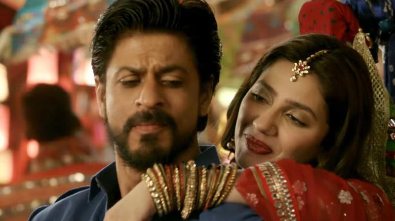 Image result for shahrukh mahira khan