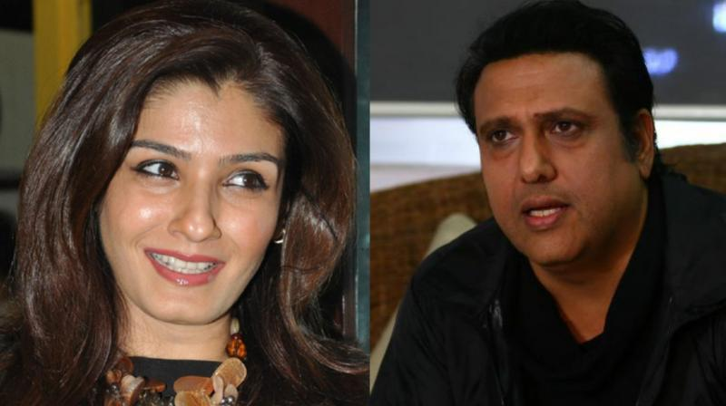Exclusive raveena tandon ignores govindas phone calls skips his the comedy flick was earlier titled as abhinay chakra which was changed later altavistaventures Choice Image