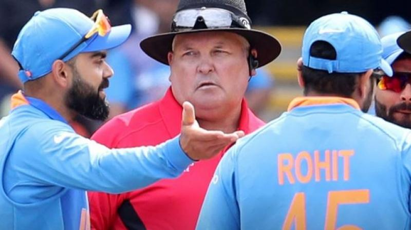 Kohli seemed to have breached Article 2.1 of the ICC Code of Conduct for Players and Player Support Personnel, which is linked to 'Excessive appealing during an International Match'. (Photo:AP)