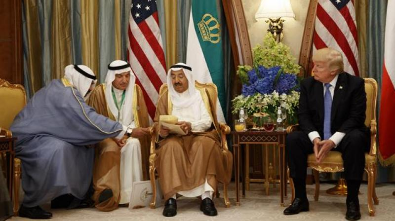 The development puts pressure the GCC, a group of American-allied Gulf Arab nations formed in part in 1981 as a counterbalance to Shiite power Iran. (Photo: AP)