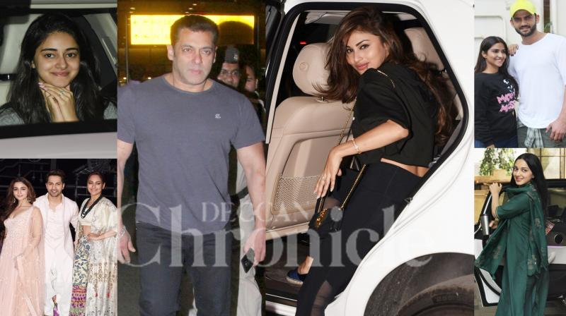 In Pics: Salman, Varun, Alia, Mouni and others snapped in