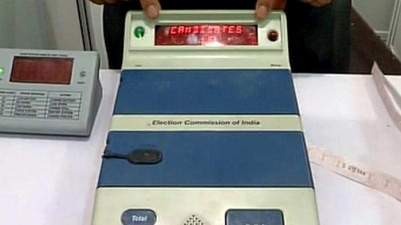 The plea of 21 Opposition parties, for VVPAT verification in 50 per cent or 125 polling booths in each constituency was earlier dismissed by the Supreme Court. (Photo: File)