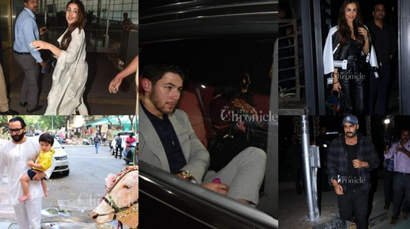 Nick Jonas and Priyanka Chopra are now back in town and the couples and star kids are still making a noise in town.