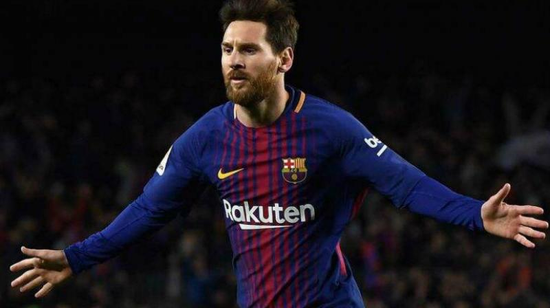 Messi scored his first goal of the season in a 4-0 thrashing of Sevilla on Sunday, after two months spoiled by calf and thigh injuries. (Photo: Twitter)