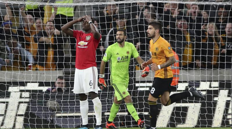 Ole Gunnar Solskjaer has refused to name a Manchester United penalty taker despite the furore that followed Paul Pogba's miss from the spot against Wolves on Monday that cost the Red Devils top spot in the Premier League. (Photo:AP)