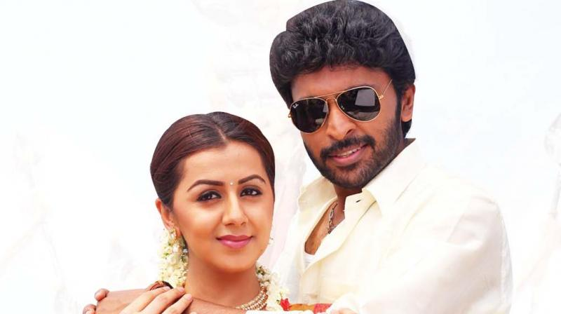 Censors have given a clean U Certificate for his upcoming film Pucca with hero Vikram Prabhu, where the latter has two heroines — Nikki Galrani and Bindu Madhavi.