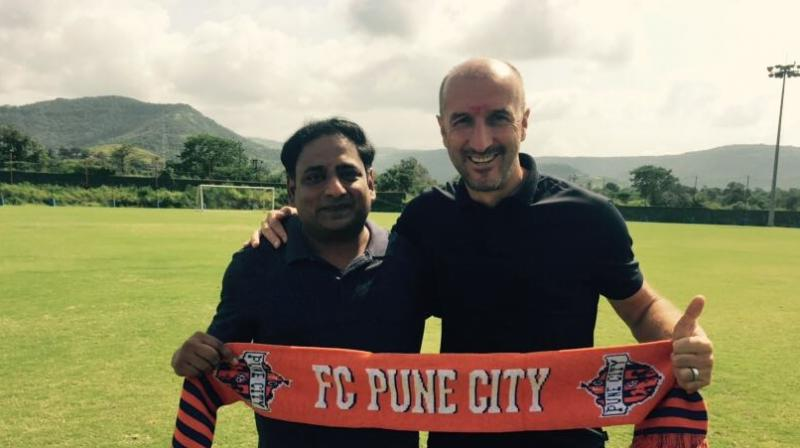 FC Pune City's Ranko Popovic.