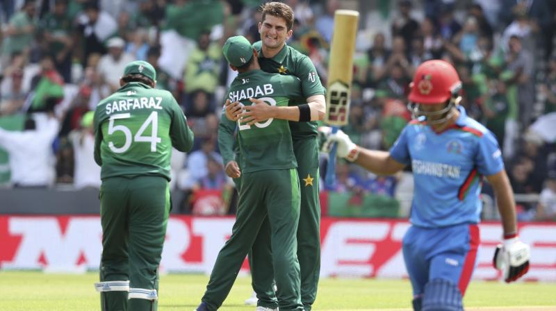 Afridi, who had starred in Pakistan's win over New Zealand, was impressive upfront as well as in the death overs, ending with figures of four for 47 in 10 overs.(Photo: AP)