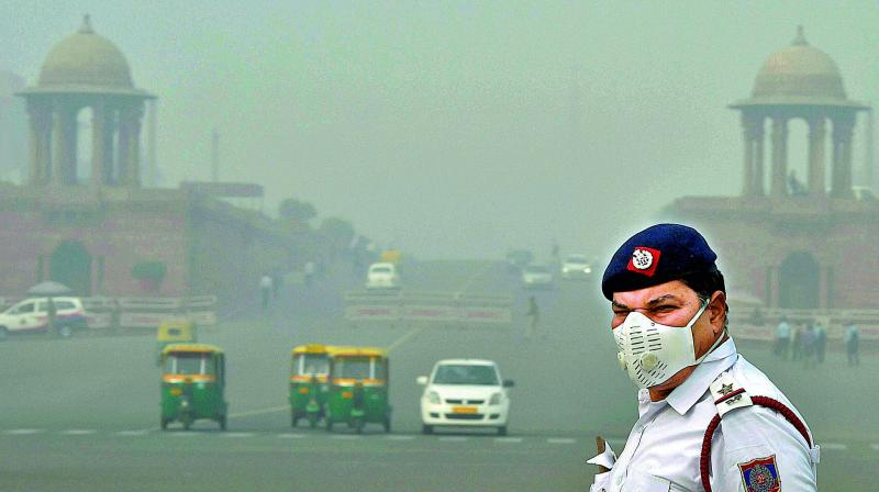 Air quality in Delhi-NCR improves a little after rain