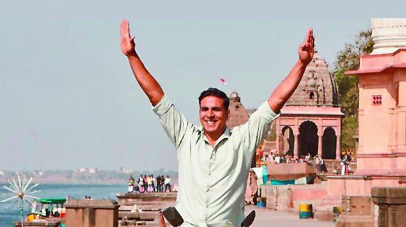 Akshay Kumar unveils Padman Stills
