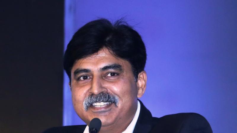 Lokesh Suji, director of  Esports Federation of India. (Photo: C Santhosh Kumar)