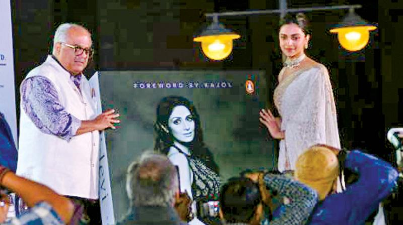 Deepika Padukone at the book launch