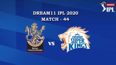 RCB VS CSK  Match 44, DREAM11 IPL 2020, T-20 Match