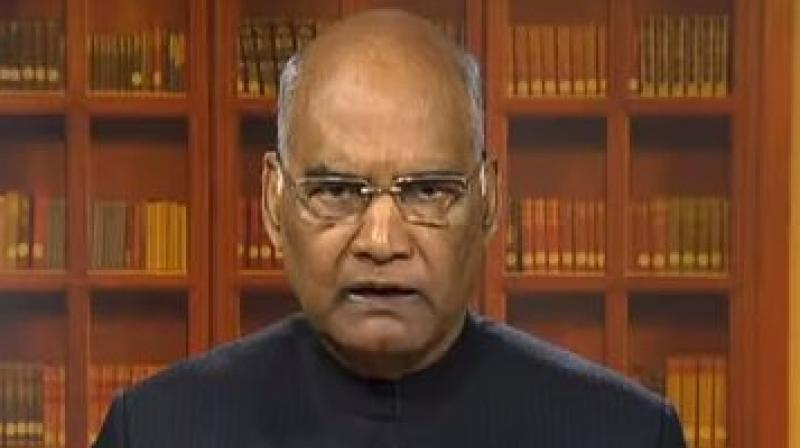 President Ram Nath Kovind greets people on eve of Republic Day. (Photo: File)