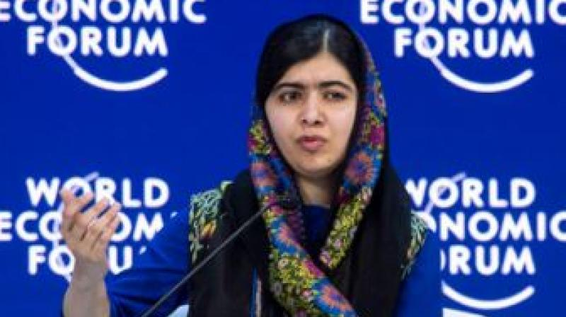Davos 2018: People like Trump are 'disappointing', says Malala Yousafzai