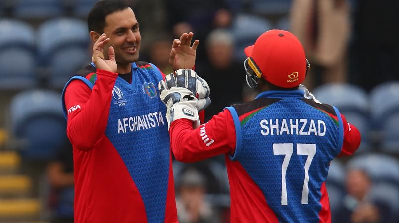 Afghanistan, who replaced Shahzad with 18-year-old Ikram Ali Khil, next play South Africa in Cardiff on Saturday with both sides looking for their first win of the tournament. (Photo: AFP)