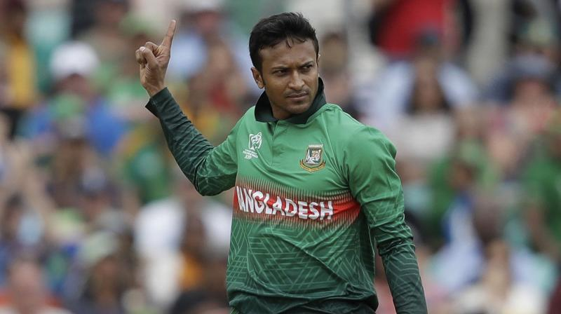 Despite Shakib Al Hasan's scintillating performance, Bangladesh have managed to win just one match out of their three World Cup matches so far. (Photo: AP)