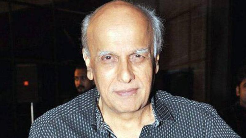 Mahesh Bhatt had directed TV show 'Naamkarann' recently.