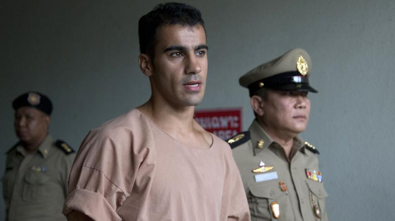 Araibi was convicted in absentia on charges of vandalising a police station in Bahrain, but says he was out of the country playing in a match at the time of the alleged offence. (Photo: AP)