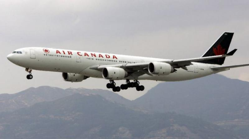 Air Canada said in a statement that it was investigating the circumstances of the go-around involving its plane and has 'no additional information to offer' at this time. (Photo: AFP/Representational)