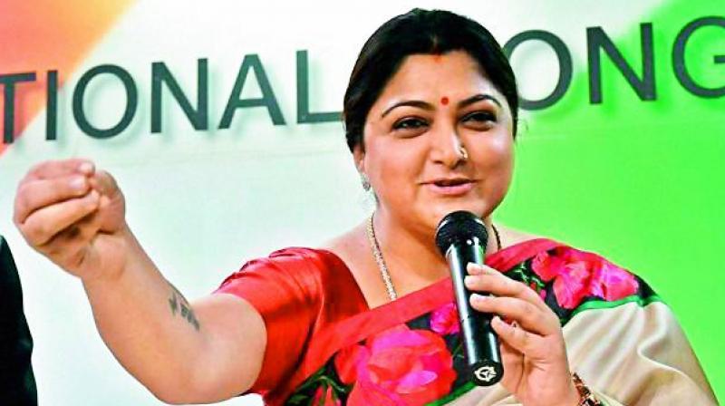 Actress speech in Telugu got overwhelming response for Telangana Polls