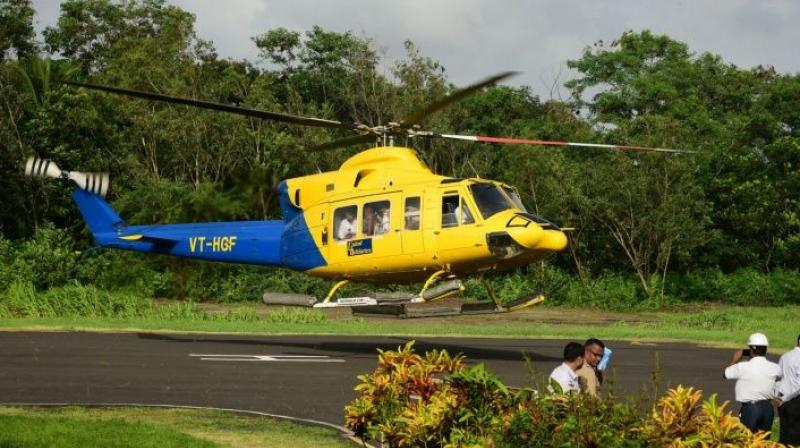 However, no Yatri shall be allowed to board the helicopter unless he or she produces a valid compulsory health certificate issued by an authorised doctor or institution. (Photo: File/PTI)