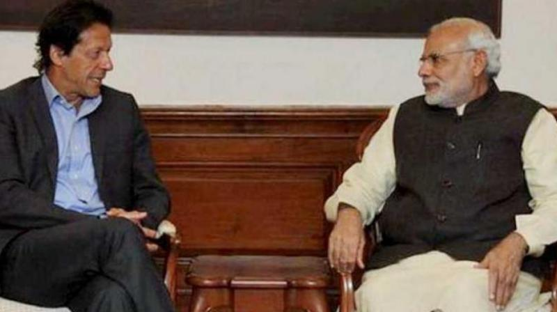 Prime Minister Narendra Modi and his Pakistani counterpart Imran Khan. (Photo: PTI)
