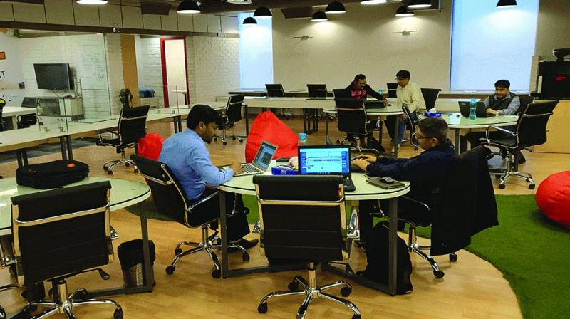 WeWork India is a brand franchisee controlled by Buildcon, owned by Jitu Virwani of Embassy Group and his son Karan Virwani.