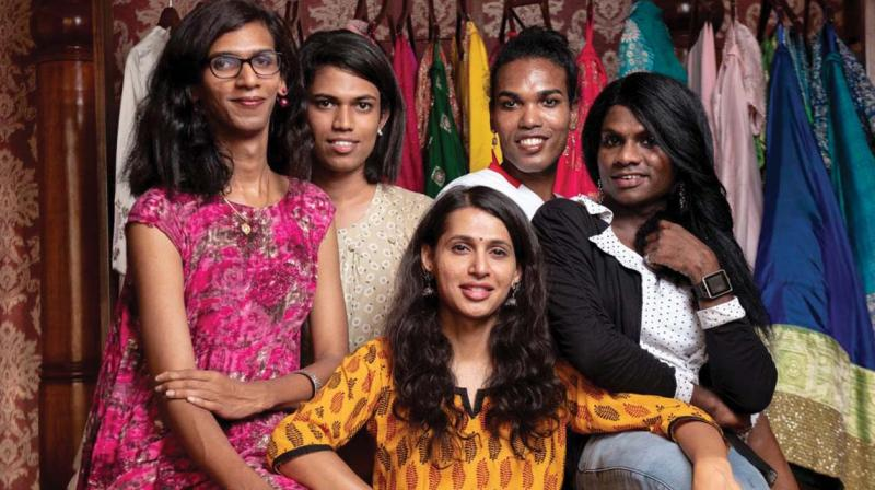 In Samyuktha's (wearing yellow) view, the scrapping of Article 377 and effectively decriminalising homosexuality has given the community a major boost in India. After the law was repealed, corporate have actively formed LGBT groups and vocally advocate hiring  zfrom the LGBT community.