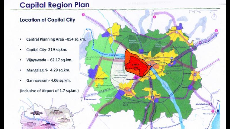 Andhra pradesh capital foundation on september 30 amaravati development corporation is planning to complete the government complexes construction by march 31 2019 malvernweather Images