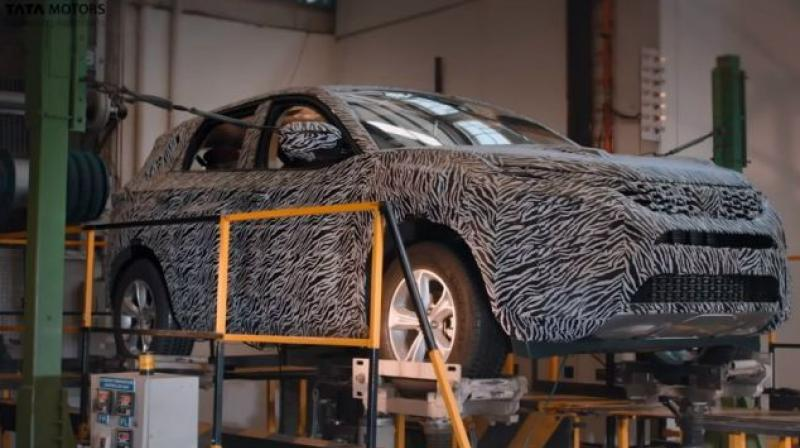 The carmaker recently uploaded two videos to show the development and testing being done on the Harrier.