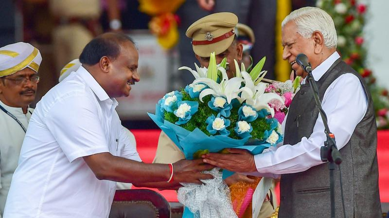 HD Kumaraswamy Becomes Karnataka Chief Minister For Second Time