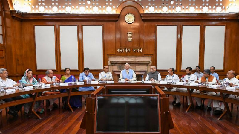 Meetings of the Cabinet Committee on Security and the Cabinet Committee on Parliamentary Affairs are also likely to be held on Monday. (Photo: PTI)