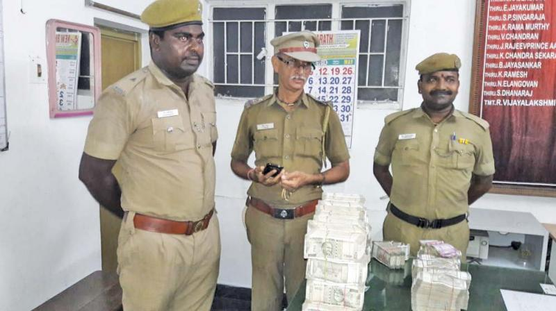 Money confirmed stolen from house in Saidapet.