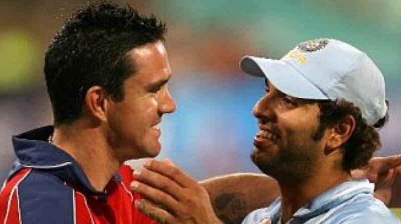 Chelsea's defeat at the hands of Manchester United in their opening match of the Premier League 2019/20 season saw former Indian cricketer Yuvraj Singh calling out veteran cricketer Kevin Pietersen on social media. (Photo: AFP)