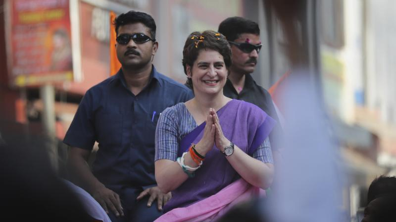 Attacking BJP government, Priyanka said that it was concerned only about 'its own progress'.  (Photo: File)