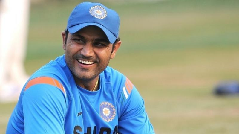 The cricket fraternity on Sunday wished former Indian cricketer Virender Sehwag, who is celebrating his 41st birthday. (Photo: AFP)