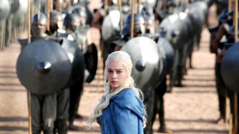 Emilia Clarke as Daenerys, the only surviving member of the Targaryen family. (Photo: AP)
