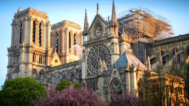 French President Emmanuel Macron has vowed to rebuild Notre-Dame 'within five years'. (Photo: AFP)