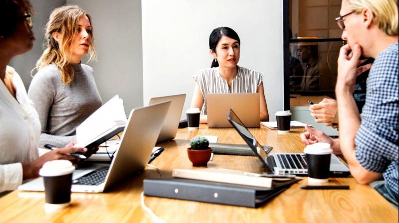 The study discovered that women in management positions do not appear to make a substantial contribution to gender equality in earnings in organisations. (Photo: Representational/Pexels)