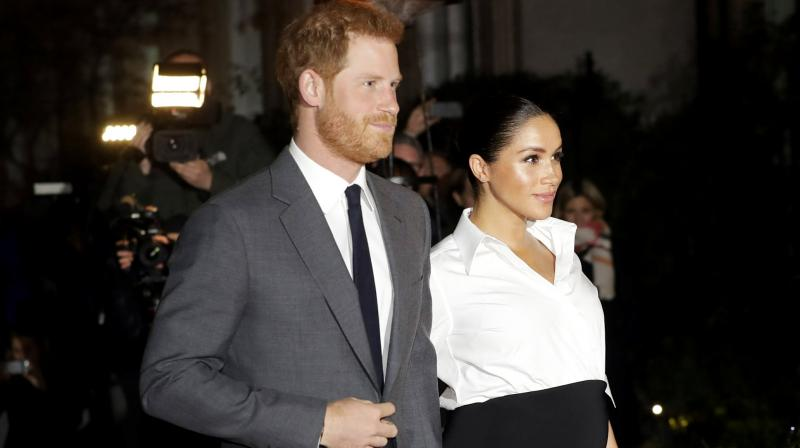 Palace officials are concerned that Harry and Meghan may announce the birth on their brand new Instagram account and give the public its first glimpse of the baby via Instagram as well. (Photo: AP)